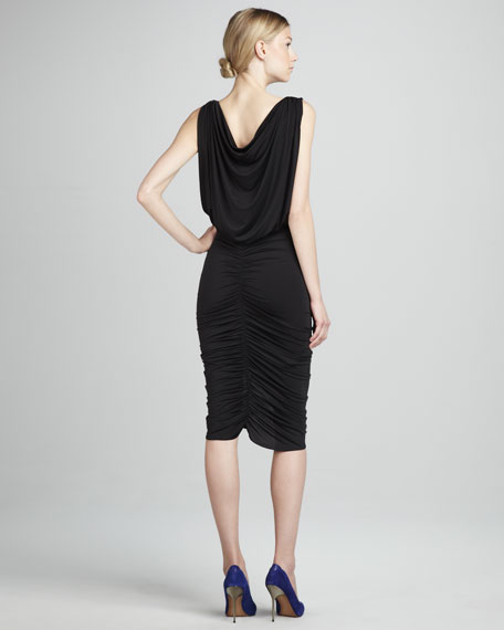 Draped Ruched Dress