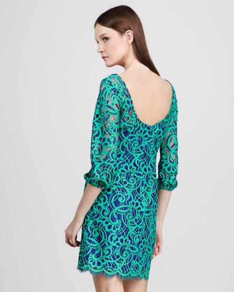 Swirl-Lace Dress