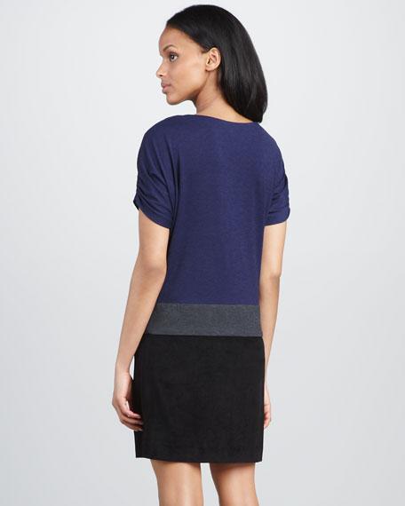 Colorblock Shift Dress