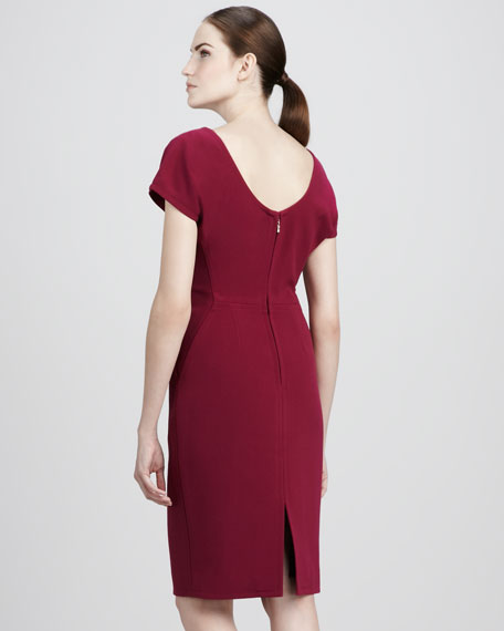 Shoulder-Detail Dress
