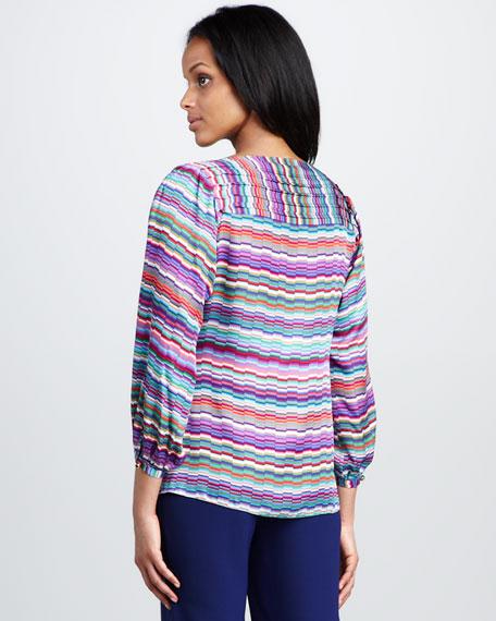 Aliza Striped Blouse