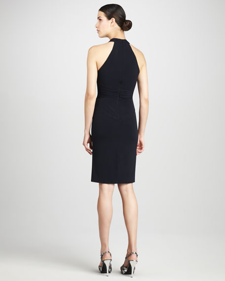 Bead-Waist Cocktail Dress