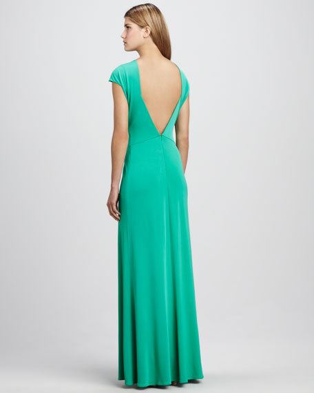 Open-Back Maxi Dress