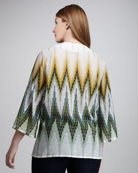 Flame-Stripe Tunic, Women's
