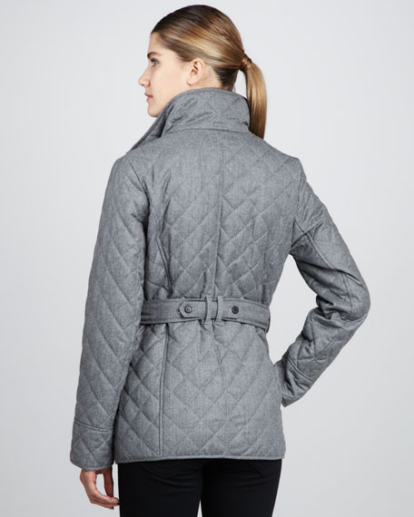 Davos Quilted Coat