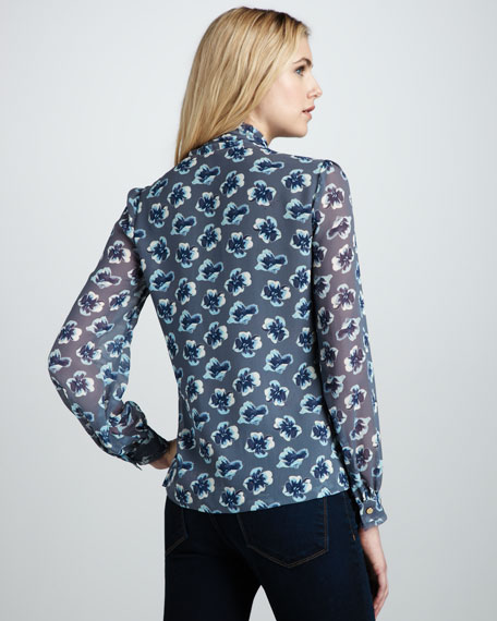 Bryce Bow Blouse