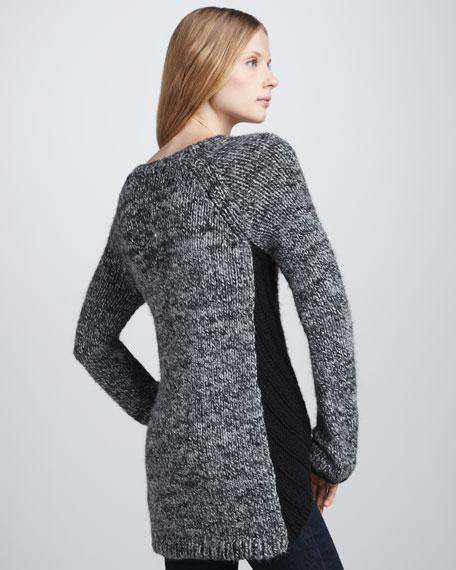Colorblock Knit Sweater