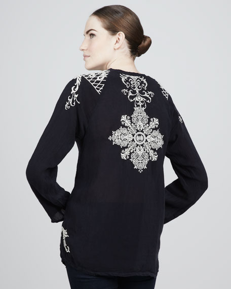 Nima Embroidered Blouse