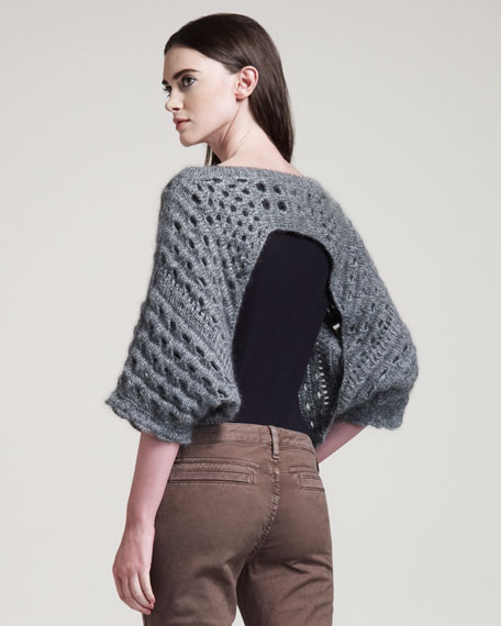 Open-Back Pullover