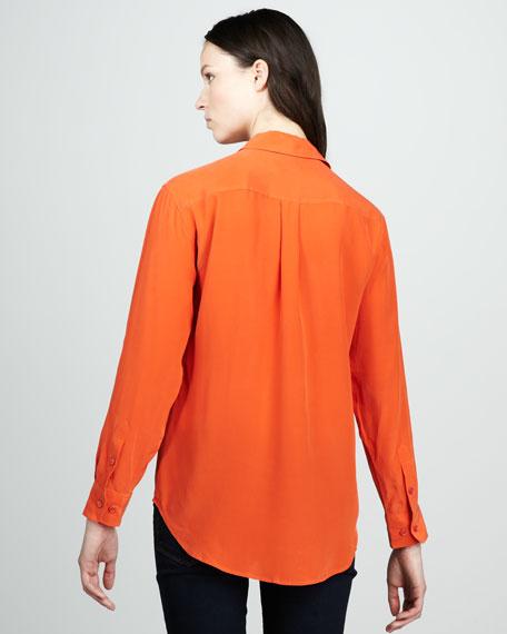 Signature Silk Blouse
