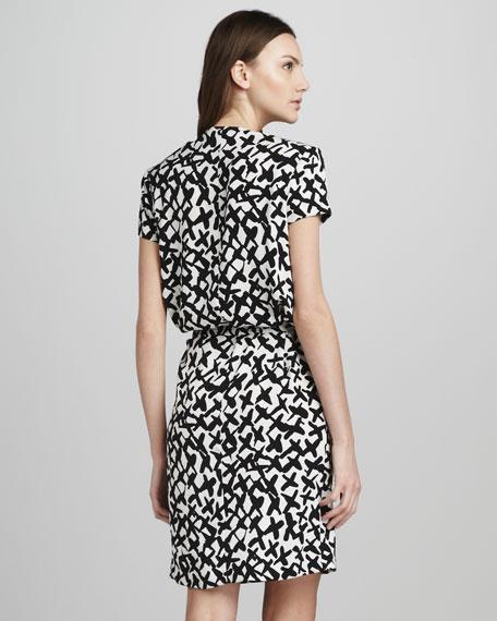 Danil Cowl-Neck Dress