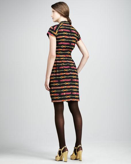 Dressage Printed Dress