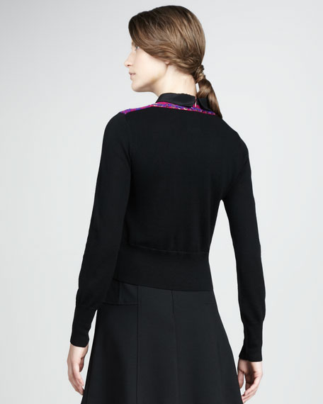 Steeple Chase Check Cardigan