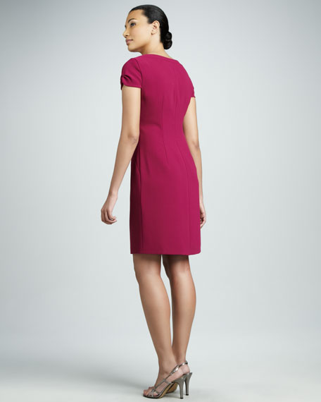 Alexis Front-Zip Dress