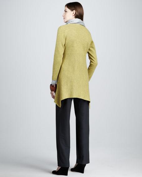 Straight-Leg Crepe Pants, Women's