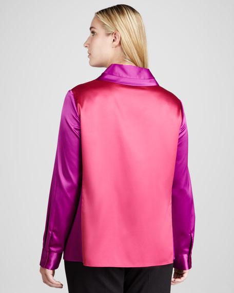 Baker Colorblock Blouse, Women's