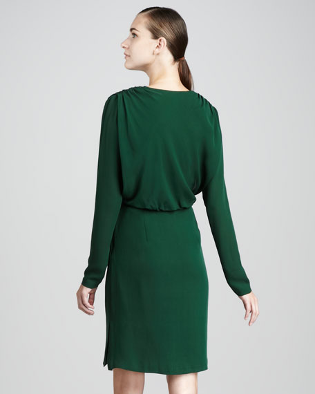 Gina Short Long-Sleeve Dress
