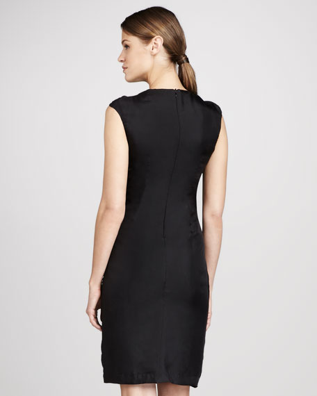 Brisa Bead-Neck Dress