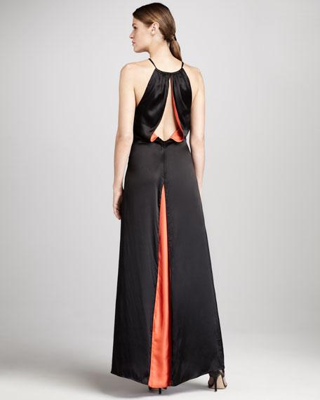 Miel Silk Maxi Dress