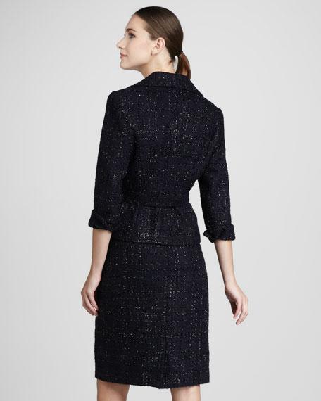 Sequined Tweed Suit