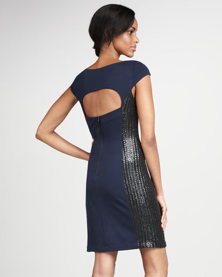 Open-Back Cocktail Dress