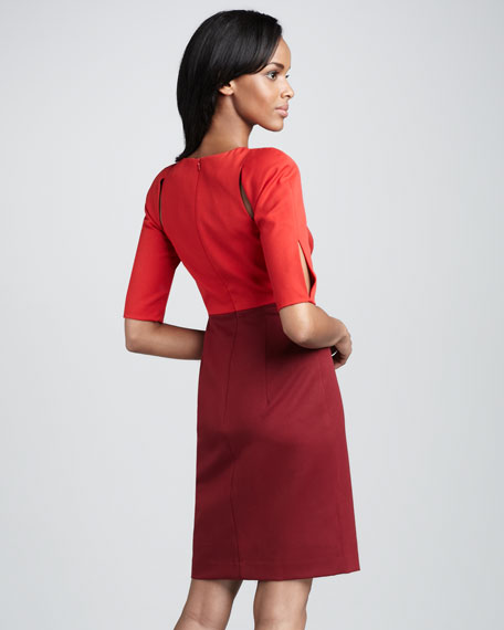 Anthony Colorblock Dress