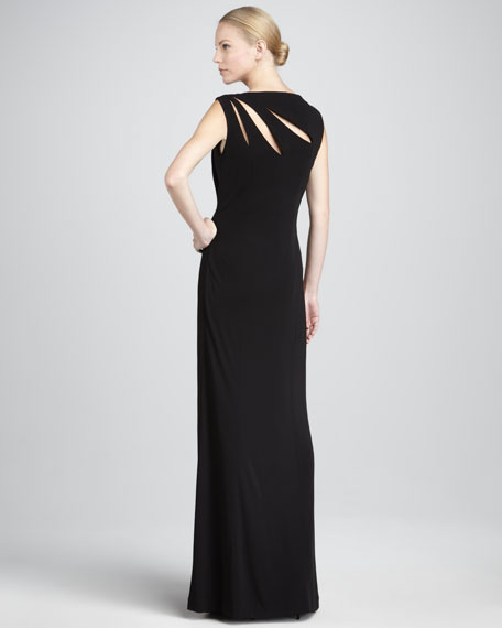 Cutout Column Gown