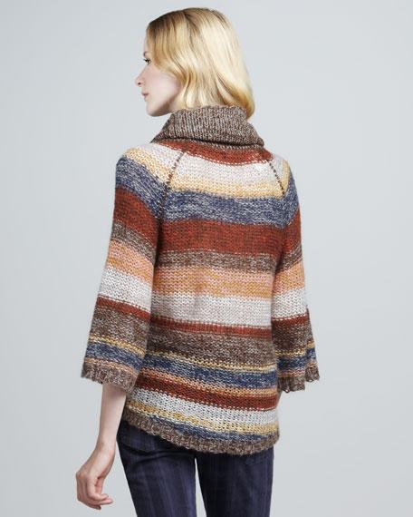 Cozy Cabin Striped Sweater
