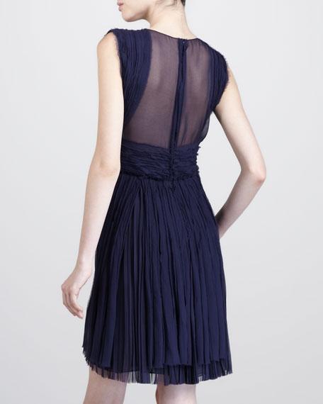 Hand-Pleated Dress