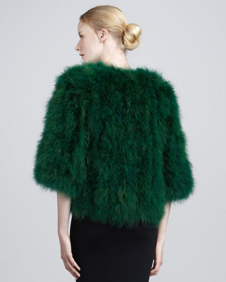 Hollywood Hills Feather Coat