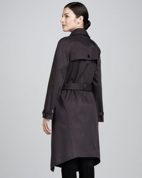 Layered Belted Trenchcoat