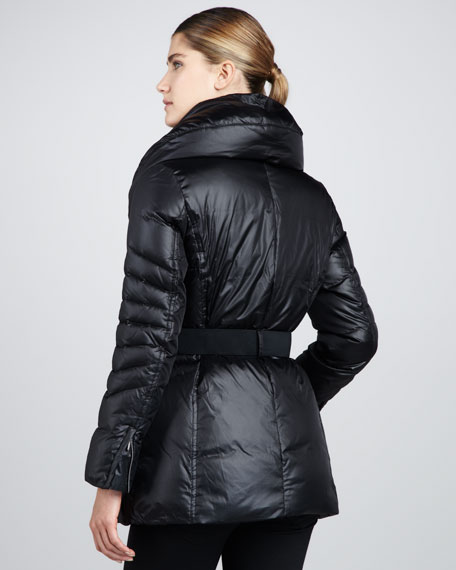 Shiny Cire Asymmetric Jacket