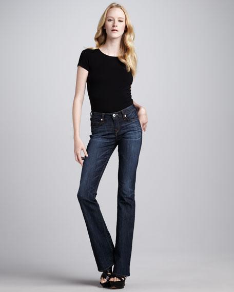Toni Luckdrawn Micro Boot-Cut Jeans