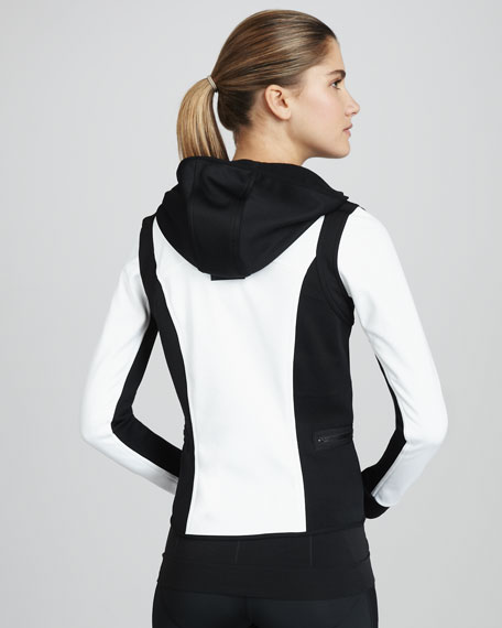 Colorblock Hooded Running Jacket