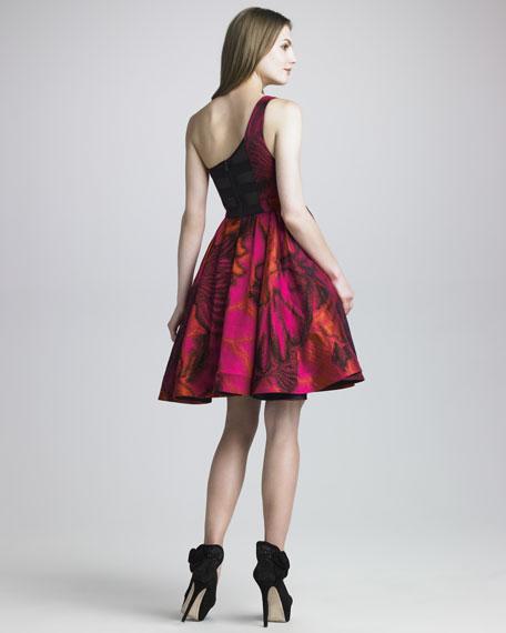 Lavinia One-Shoulder Dress