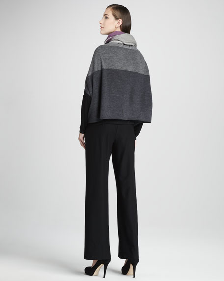 Dolman-Sleeve Alpaca Cardigan, Women's