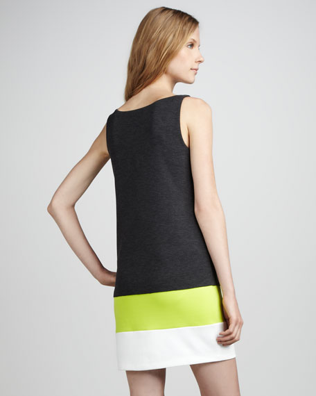 Neon Colorblock Dress