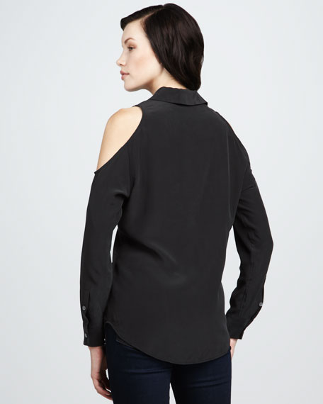 Nixie Cold-Shoulder Blouse