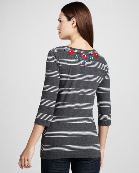 Kalia Striped Tunic