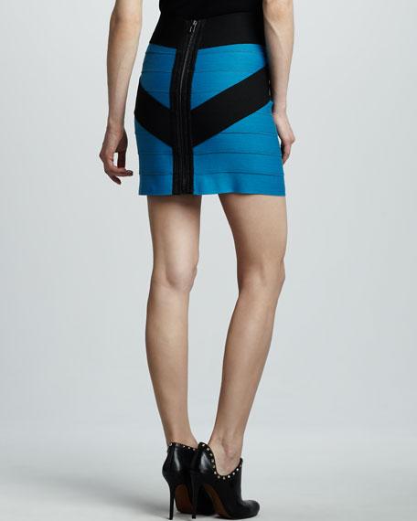 Crisscross Bandage Skirt