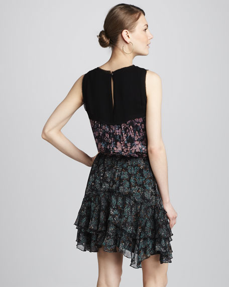 Nicola Floral-Print Dress