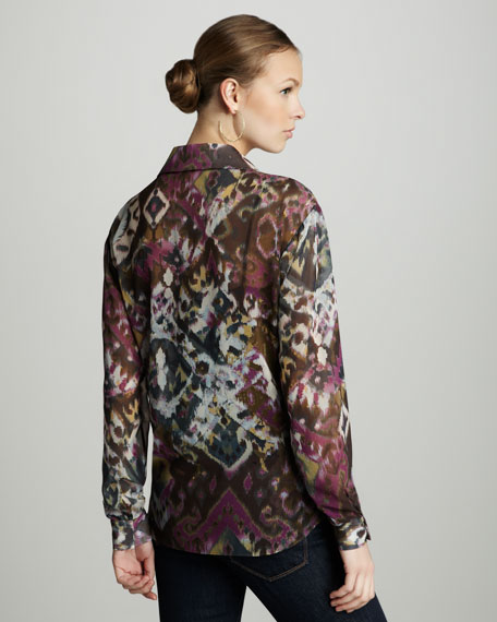 Eden Printed Blouse
