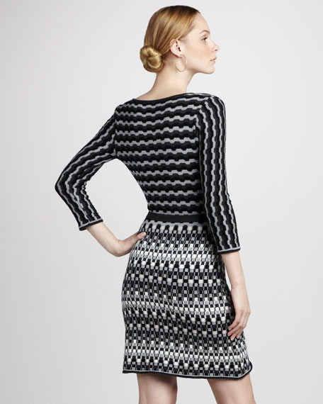 Wrap Sweaterdress