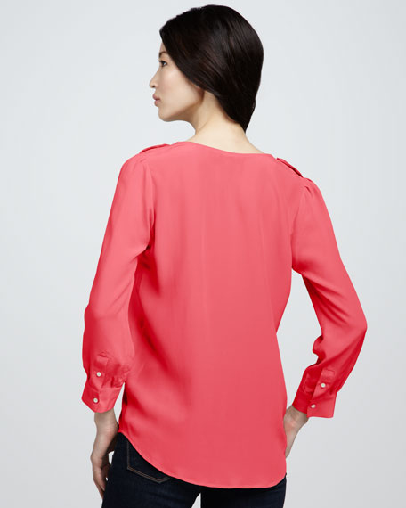 Marlo Silk Blouse