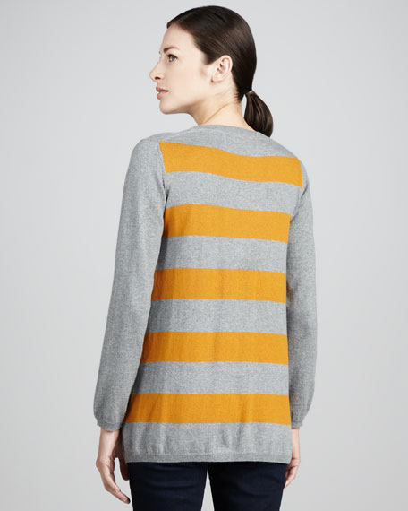 Striped-Back Sweater