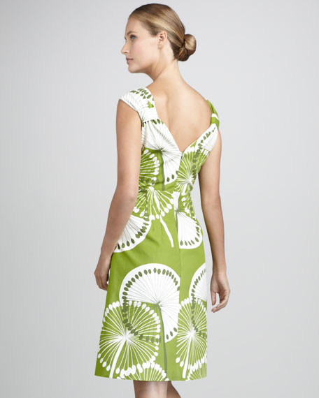 Printed Canvas Dress, Women's