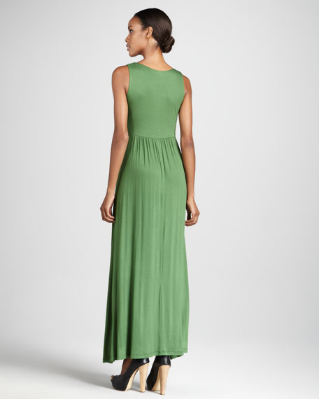 Sleeveless Tank Maxi Dress