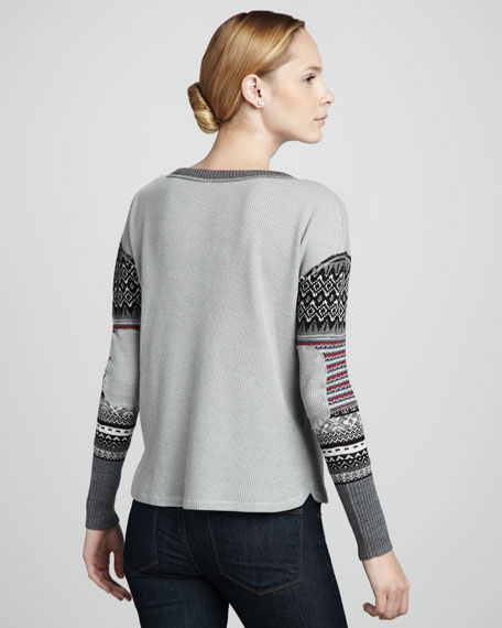 Freedom Knit-Sleeve Top
