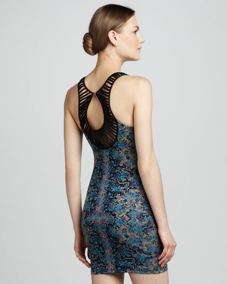 Damsel Digital-Print Dress