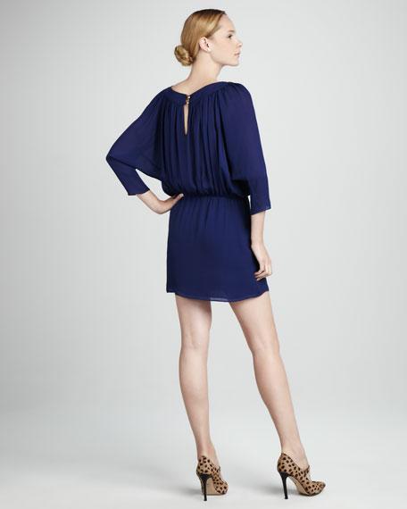 Slit Georgette Dress